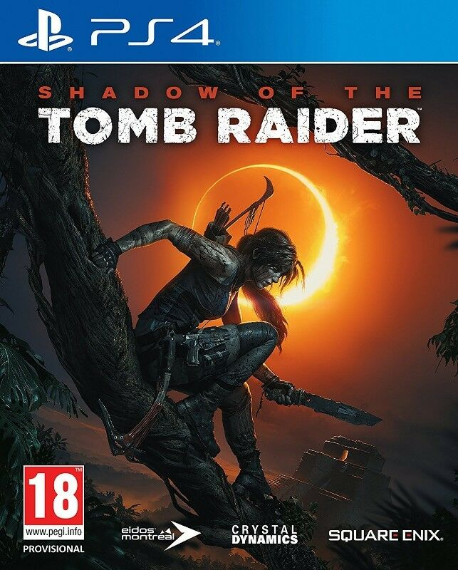 PS4 Shadow of the Tomb Raider (brand new)