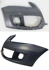 Front Left Bumper Cover For 2009-2012 Audi Q5 w// Park Sensor Holes Primed