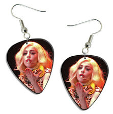 Lady Gaga Live Performance Guitar Pick Plectrum EARRINGS Collection C