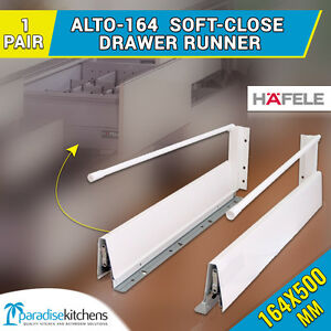 Superb Image Is Loading 1 X Alto 164 Drawer Runners Kitchen Vanity