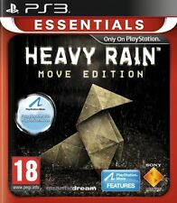 HEAVY RAIN MOVE EDITION PS3 Game MOVE Optional (BRAND NEW SEALED)