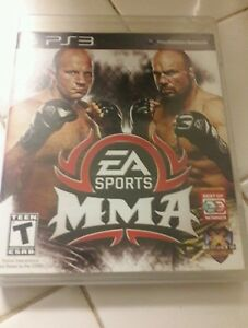 Details about EA Sports MMA ps3 replacement case and manual only