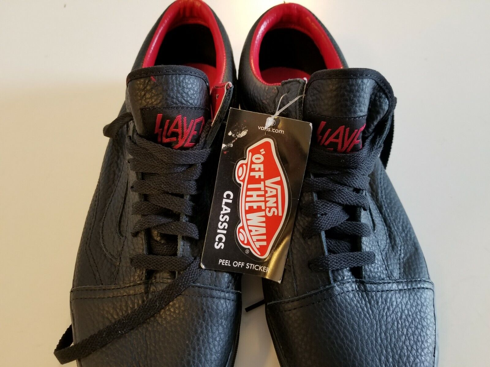 SLAYER x VANS  Old School  BRAND NEW w  TAGS - Size 13 US Men