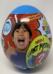 Ryan-039-s-World-Giant-Mystery-Egg-Blue-Series-2-Brand-New-Sealed-Large-Size
