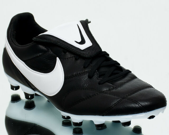 Mens The Nike Premier II FG Soccer Cleats Shoes 917803-001 Sz 10 Black White 5db1f818a736