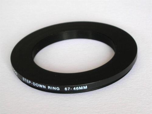 Step Down Adaptador 67mm-46mm anillo de refuerzo 67 A 46mm 67-46 Anillo Step Down