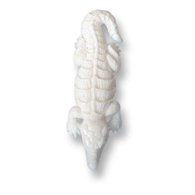 Amulett Anhänger inkl Band Frosch Bone Knochen Handarbeit Design PB228