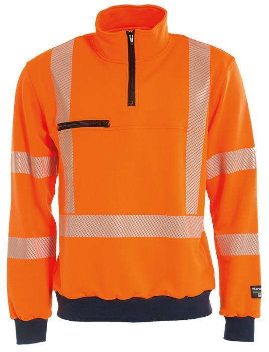 Warnschutz Sweatshirt Tranemo 4871 26 50 Orange Orange Orange EN 20471 Cl.3 - Größe L  | Qualitätskönigin  | Stilvoll und lustig  | Hohe Qualität Und Geringen Overhead  0443ed