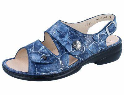 FINN COMFORT Milos Damen Sandale blau kobaltNubuk | eBay
