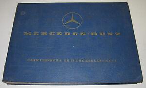 Ersatzteilkatalog-Mercedes-LKW-Typ-L-408-G-O-309-B-Transporter-T2-Fahrgestell