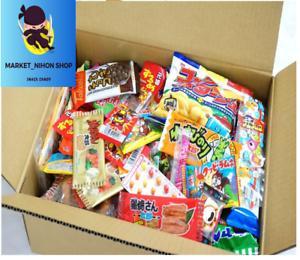 Japanese-snack-candy-choco-Dagashi-Box-30-Suessigkeiten-box