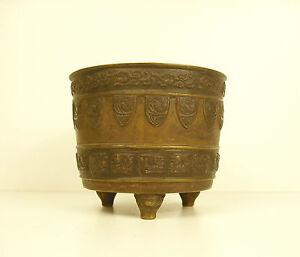 Pot Tripod Bronze China Towards 1900 Chna Circa 1900 16.9oz H:3 5/16in