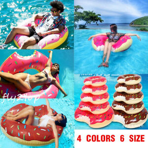 pool water with float. Plain Water Image Is Loading InflatableSwimRingGiantFunBiteShapeDonut And Pool Water With Float T