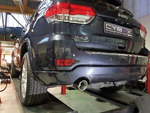 Details about JEEP GRAND CHEROKEE (WK2) 3 0 CRD / EcoDiesel – Exhaust  Silencer Muffler delete
