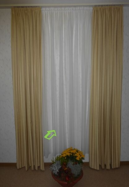 Gardine Store natur gestreift Höhe 220 cm Vorhang Vorhang Vorhang | Düsseldorf Online Shop  231f7b