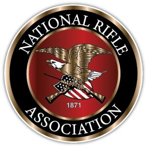 5  NRA ..National Rifle Association.. 2nd Amendment ..Vinyl Sticker Decals .NEW