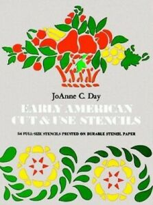 Early-American-Cut-and-Use-Stencils-by-Day-Joanne-C-Book-The-Cheap-Fast-Free