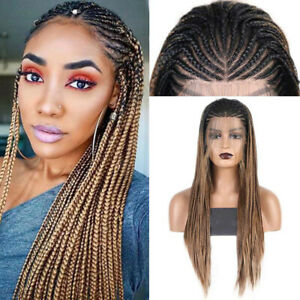New-Arrival-Long-Hand-Made-Box-Braids-Lace-Front-Wig-for-Black-Women-Synthetic