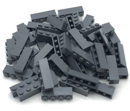 LEGO LOT OF 50 NEW DARK BLUISH GREY 1 X 4 DOT BRICKS BUILDING BLOCKS