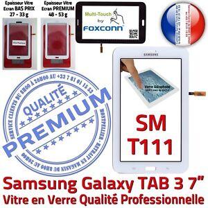 SM-T111-LITE-Galaxy-TAB-3-Vitre-Tactile-Qualite-PREMIUM-Assemblee-Ecran-Blanc