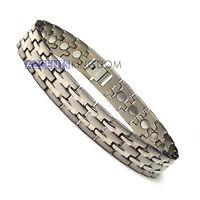 Accnets Kingdom Men's Magnetic Therapy Power Titanium Golf Bracelet T27