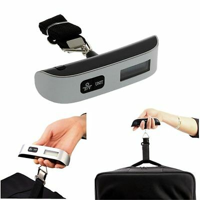 50kg/10g Portable LCD Digital Hanging Luggage Scale Travel Electronic Weight MC