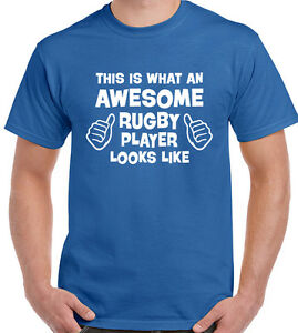 This Is What An Awesome Rugby Player Looks Like  Mens Funny Hoodie England Wales