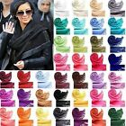 Fashion Womens Winter Warm Scarf Cashmere Silk Long Pashmina Large Shawl Wrap CH