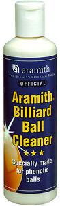 ARAMITH BILLIARD BALL CLEANER - NEW - POOL BALL CLEANER BY ARAMITH BILLIARDS