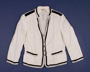 Philosophy-Di-Alberta-Ferretti-White-Blazer-Jacket-Size-S-Small