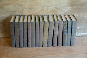 The Best Known Works of antique book set - 1940s Blue Ribbon Books hardback