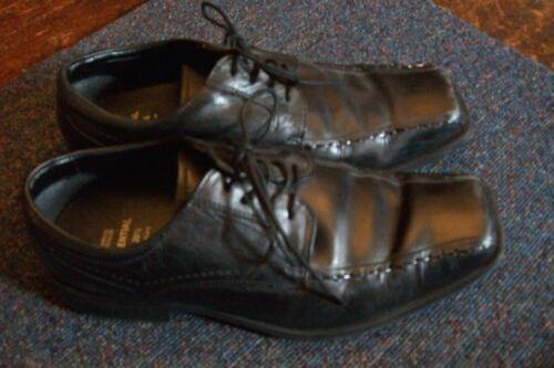 Cuir Marks Taille 6 Surpiqué Lacets Spencer noir And q4Pn4a7vp