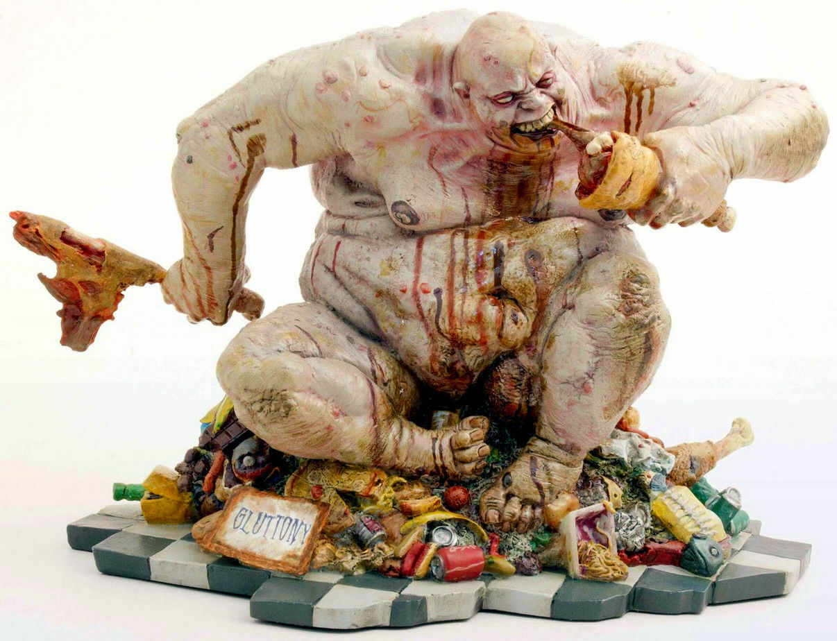 GEEK TOYS - SEVEN DEADLY SINS - GLUTTONY - LIMITED EDITION STATUE