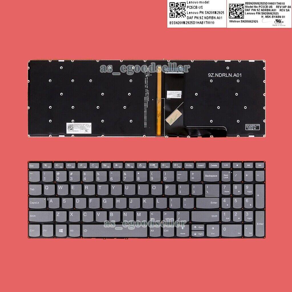 for Lenovo Ideapad 3-15ADA05 3-15ARE05 3-15IGL05 3-15IIL05 Keyboard US BACKLIT