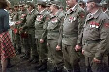 EAST GERMAN UNIFORM PC.- Kampfgruppen Der Arbeit.  SHIRT ONLY - SIZE LARGE U.S.