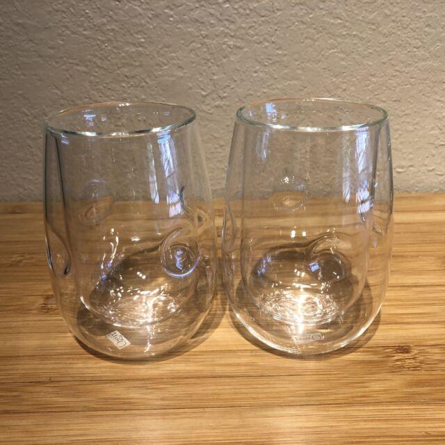8-Ounce Ozeri Moderna Artisan Series Double Wall Beverage Glasses Set of 4
