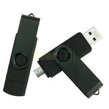 2PCS 32GB Micro USB/USB2.0 Flash Pen Drive Memory Stick For Smartphone Tablet PC