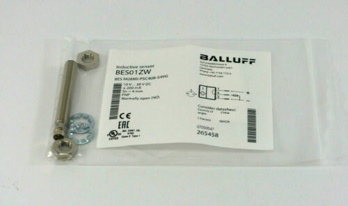 BALLUFF restreints m08mi-psc40b-s49grepro Capteurbes01zw