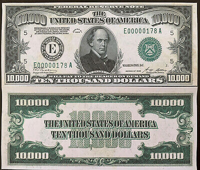 Reproduction $1000 1928 Gold US Paper Money Currency Copy