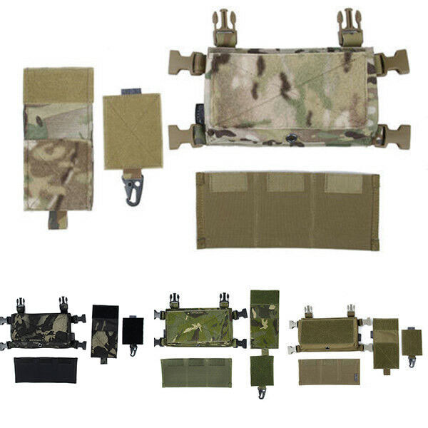 TMC Tractical MCR Front Set for Tactical Vest Chest Rig 5 color TMC3119