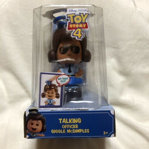 Disney Pixar Toy Story 4 Talking Officer McGiggles 3 Faces 20 Phrases New In Box