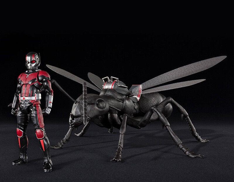 Bandai S.H. Figuarts Ant-Femme Et & The Wasp - Ant-Femme & Et ANT Deluxe Set NEUF 4c0c2e