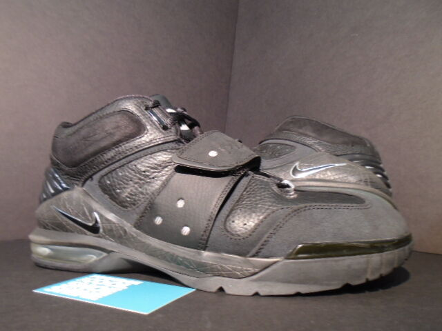2005 Nike Air Force OPERATE MAX 1 BLACK CHROME SILVER GREY 310429-001 11