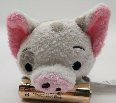 "2016 NEW  Authentic Disney Store Tsum Tsum Moana pet pig Pua Mini 3 ½"" Plush"
