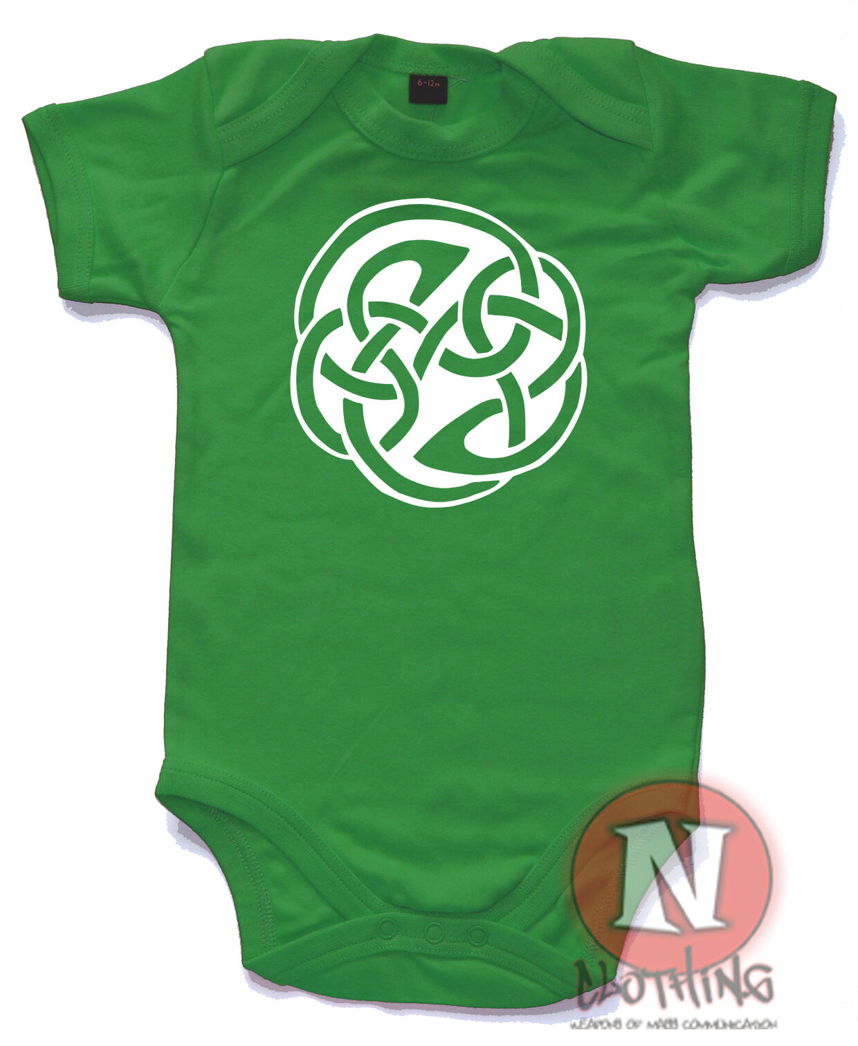 Celtic knot goth tribal gothic cute sweet babygrow baby vest all sizes brand new
