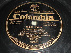 Don-Voorhees-And-His-Earl-Carroll-039-s-Vanities-Orchestra-Muddy-Water-78