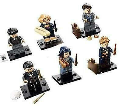 LEGO Harry Potter - Fantastic Beasts and Where to Find Them Set of 6x Minifig...