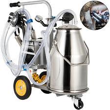 Vevor Electric Milking Machine Milker Machine 25l Cow Milking Machine