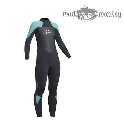 Gul Ladies Response 5//3mm SDL BlindStitch T2 Steamer Wetsuit Surf Dive Swim
