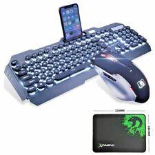 066482e8f1c item 4 UK PUNK Wired LED Backlit Ergonomic USB Gaming Keyboard + Gamer  Mouse+ Mouse Pad -UK PUNK Wired LED Backlit Ergonomic USB Gaming Keyboard +  Gamer ...